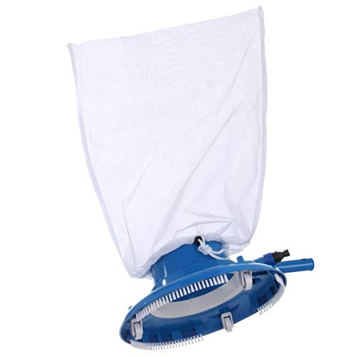 Pvc-vakuum-anschluss (Blueborn Pool Bodensauger JV-R Venturi Schwimmbad Sauger Gartenschlauch Saugbürste + Auffangsack)