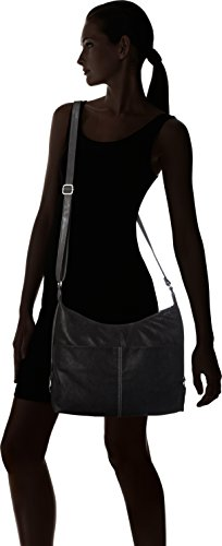 s.Oliver (Bags) - Shoulder Bag, Borse a spalla Donna Nero (Black)