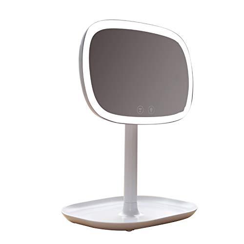 Countertop Schminkspiegel LED Schminkspiegel Mit Licht AME Schminkspiegel Base Storage Desktop Spiegel Hd Sonnenbrille