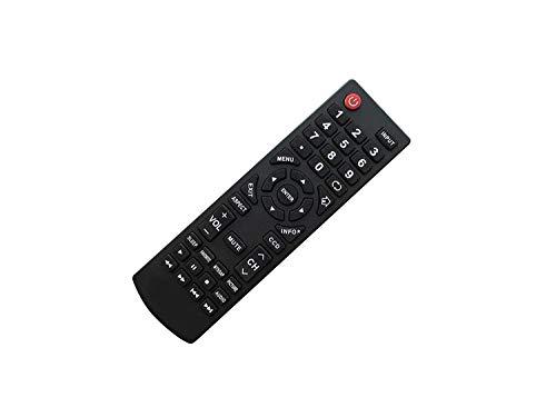 Fernbedienung kompatibel für Insignia NS-24LD100A13 NS-32E859A11 NS-42E470A13 NS-42E859A11 NS-24L240A13A NS-42E480A13 NS-42E480A13A NS-32D120-A13 NS-L37Q-10A NS-L42Q-10A Plasma LCD LED HDTV TV - Insignia Lcd-hdtv