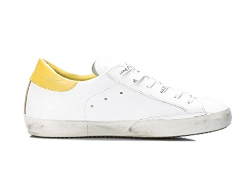 PHILIPPE MODEL LAKERS WHITE/YELLOW 43, Bianco MainApps