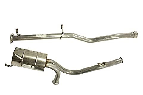 SS Stainless steel Exhaust System Defender 90 All 300TDi diesel