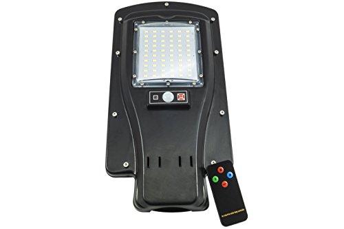 Farola viales de energía solar con cuerpo único está formado por todos los componentes necesarios para su funcionamiento en autonomía del farol LED, gracias a su electrónica interna se garantiza a batería completamente cargada aproximadamente 3noche...