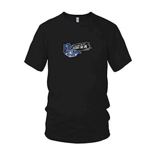 Yugi Muto Kostüm - Card Game Challenge - Herren T-Shirt, Größe: XXL, Farbe: schwarz