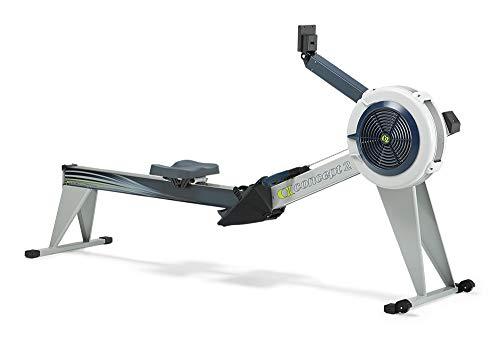 Concept2 Rudergerät Indoor Rower Modell E mit PM5 grau (2 Concept Modell E)
