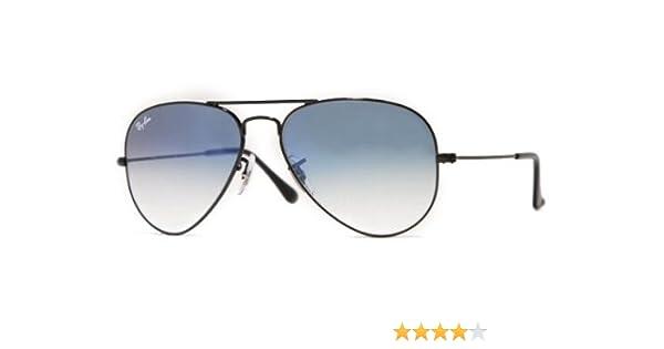 9a6b5f3962f Ray-Ban Aviator Sunglasses (Light Blue Gradient) (RB3025