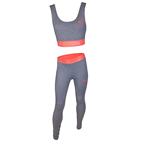 Puma Active Essentials Banded Women's Crop Top - AW17 Grey