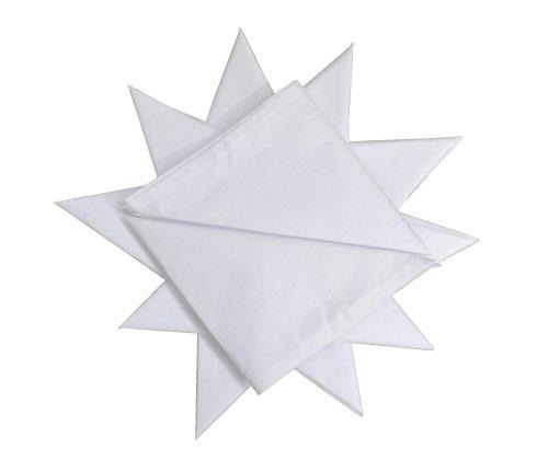 12-Pack-Mens-100-Cotton-White-Handkerchief-16-x-16-40cmx40cm