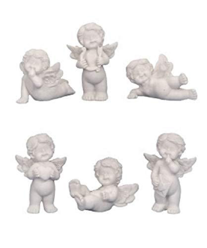 24 süsse Engel Figuren je 3,5 cm Schutzengel Hochzeit Taufe Gast Geschenke