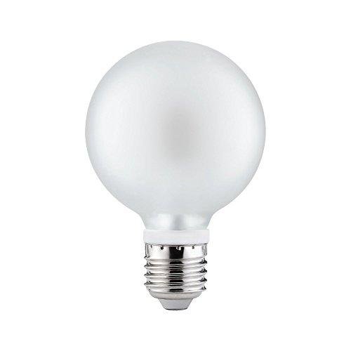 6 x Paulmann LED Leuchtmittel Globe G80 5W = 40W E27 Satin satiniert Warmweiß 2700K 360°