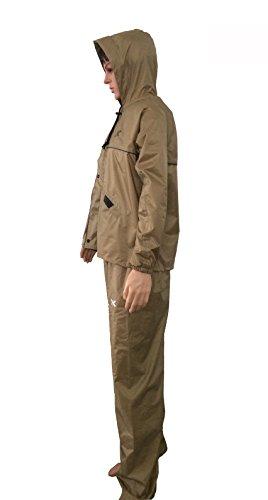 Killer Desert Prc Rain Suit For Men With Hood And Front Zip (kgt-211)