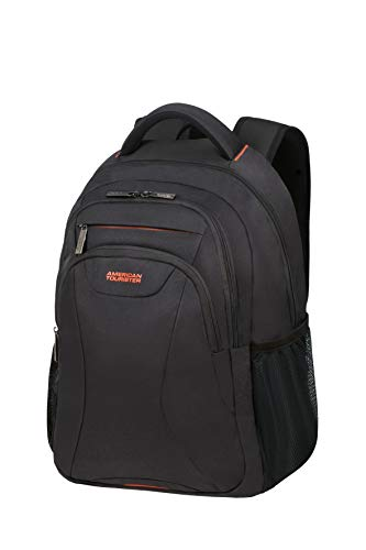 American Tourister at Work Rucksack, 50 cm, 25 Liter, Black/Orange -