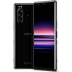 """Sony Xperia 5 - Smartphone débloqué 4G (Ecran 21: 9 Cinemawide OLED de 6, 1"""" - 128 Go - Double SIM - Android Pie) -Noir"""