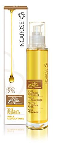 Incarose organico puro olio di argan 100ml