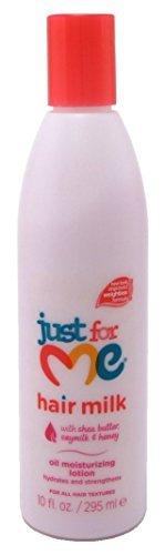 Just For Me Lait cheveux Huile Lotion hydratante 295 ml (pack de 2)