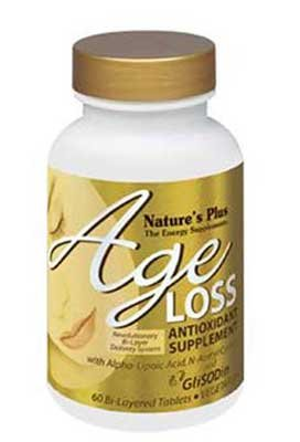 Natures Plus Age Loss Antioxidant Supplement - 60 Tablets