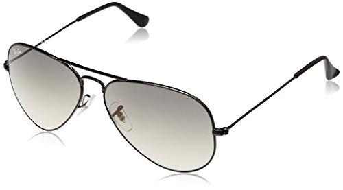 Ray-Ban Aviator Sunglasses (Black) (RB3025 002/3258)