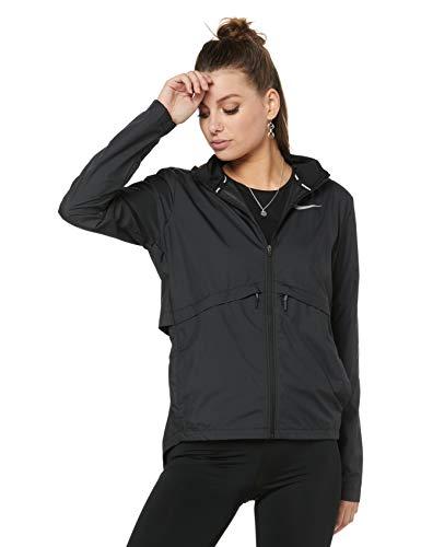 Nike Damen Essential Laufjacke, Black, M (Nike Winter Damen Jacke)