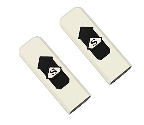 Com fourMechero eléctrico recargable USB, resistente al viento