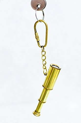 Sailor's Art Brass Telescope Key Ring  available at amazon for Rs.243