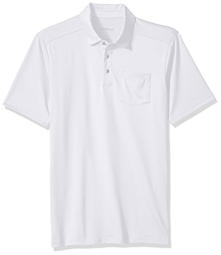 Skechers Go Golf 2018 Herren Sawgrass Pocket Kurzarm-Performance-Polo-Shirts White 3XL -