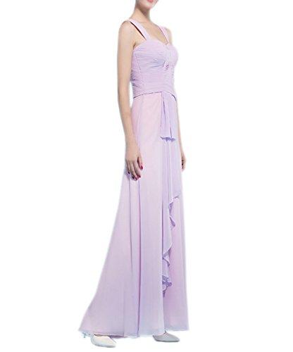 Ikerenwedding Damen Kleid Small Hellviolett