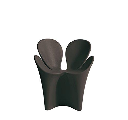 Driade Clover Outdoor Armlehnstuhl - schwarz - Ron Arad - Design - Gartenstuhl