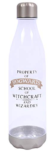 Transparente Wasserflasche 1l HARRY POTTER