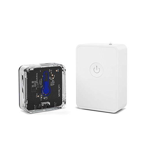 Meross Termómetro Higrómetro Sensor de Temperatura y Humedad Inteligente WiFi Inalámbrico. Compatible...
