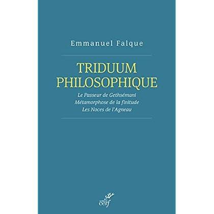 Triduum philosophique