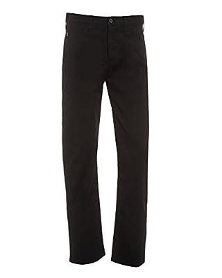 Armani Jeans Mens J21 Jean Black Stretch Gabardine Denim