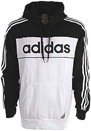 adidas mens Mens Essentials Hooded Sweatshirt T-Shirt