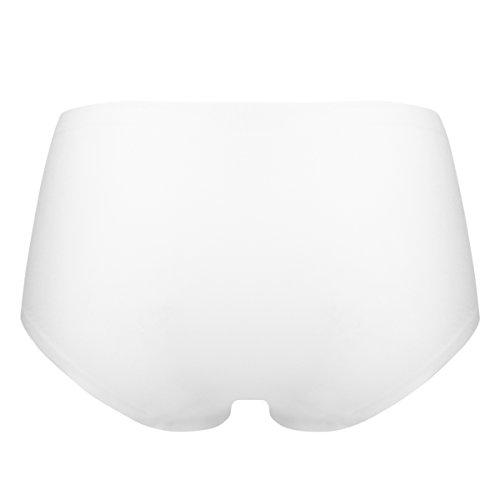 Ten Cate Damen Hip-Shorts Hipster Midi SECRETS (3838) White