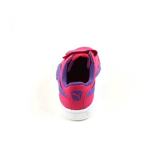 Chaussures Smash Fun CV V Rose Fille Puma 06