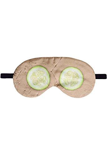 Schlafbrille Beauty Gurke Maske Schlafmaske Brille Augenmaske Augenbinde Sleep Eye Mask Schlafhilfe