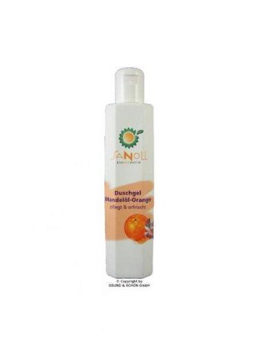 Sanoll Biokosmetik Sanoll Duschgel Mandelöl-Orange 200 ml