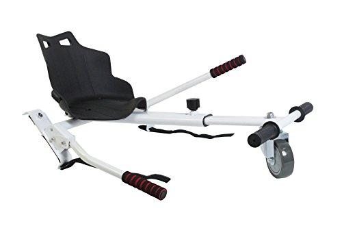 Sumun Sbksgt Asiento Kart Hoverboard, Blanco / Negro, 6.5