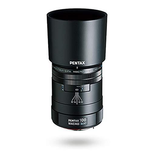 smc PENTAX-D FA MACRO 100mmF2.8 WR Téléobjectif macro de qualité supérieure 1:1(1X) Des photos à des distances jusqu'à 13cm (5,1 pouces) entre l'objectif et le sujet Pouvoir de définition exceptionnel