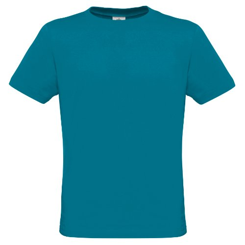 B&C Herren T-Shirt, Kurzarm, Rundhals Marineblau