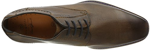 Bugatti 312418023200, Scarpe Stringate Derby Uomo Marrone