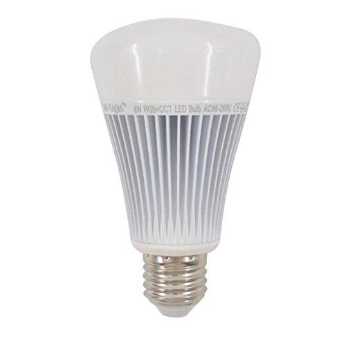 HY-FHLJ LED intelligente Birne Material Aluminium RGBW bunte 8W35-65mAE27 Glühbirne
