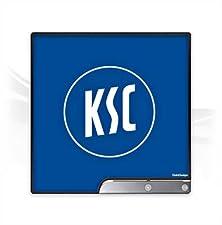 DeinDesign Sony Playstation 3 Slim CECH-2000-3000 Folie Skin Sticker aus Vinyl-Folie Aufkleber Ksc Karlsruher SC Merchandise Fanartikel