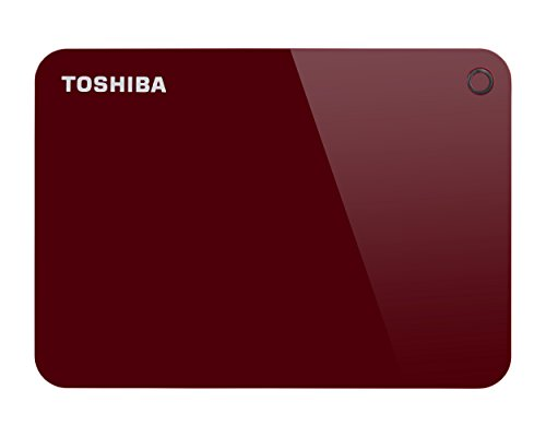 "Toshiba HDTC920ER3AA Disque Dur Externe Portable 2,5"" 2 to USB 3.0 Rouge"