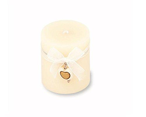 Thun bomboniere candela matrimonio con charm, ceramica, variopinto