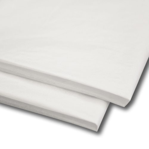 Swoosh Supplies 100 hojas de papel de seda, color Blanco, 51 x 76 cm