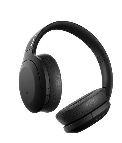 Sony WH-H910N kabellose High-Resolution Kopfhörer (Noise Cancelling, Bluetooth, Ambient Sound Modus, Quick Attention Modus, bis zu 40 Std. Akkulaufzeit) schwarz - 7
