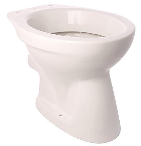 Gustavsberg Stand-WC Festival I Tiefspüler I Abgang waagerecht   Weiß I Toilette