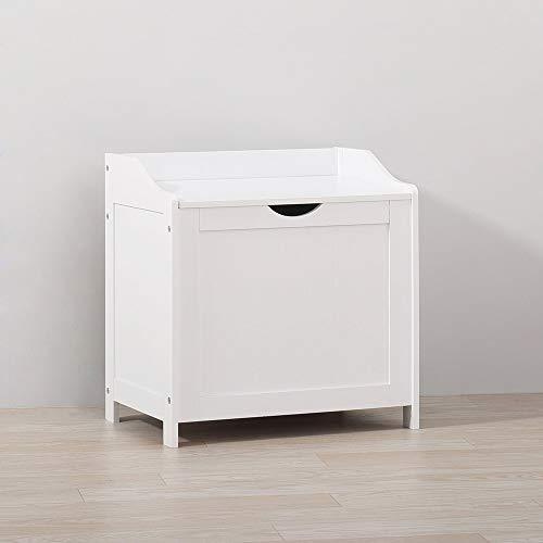 Ruication armadietto da bagno per lavanderia, per soggiorno, camera da letto, bagno, corridoio, bianco