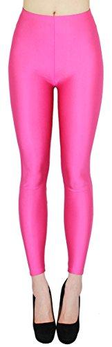 Glanz Leggings Damen bunt viele Farben Tanz Leggings glänzende Leggins Shiny One Size - JL116 (One Size - geeigent für Gr. 36-38,...