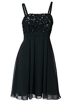 Kleid Cocktailkleid von Ashley Brooke - Schwarz Gr. 36
